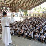 Vocation Campaign at Urbiztondo Catholic School
