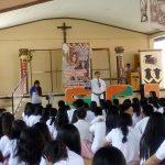 Vocation Campaign at Saint Charles Academy, San Carlos City, Pangasinan