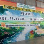 Vocation Campaign at Urbiztondo National High School, Urbiztondo, Pangasinan