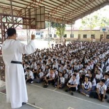 Vocation Campaign at Urbiztondo Catholic School