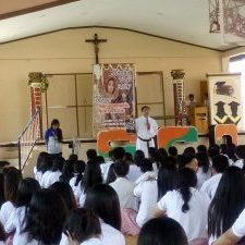 Vocation Campaign at Saint Charles Academy, San Carlos City, Pangasinan